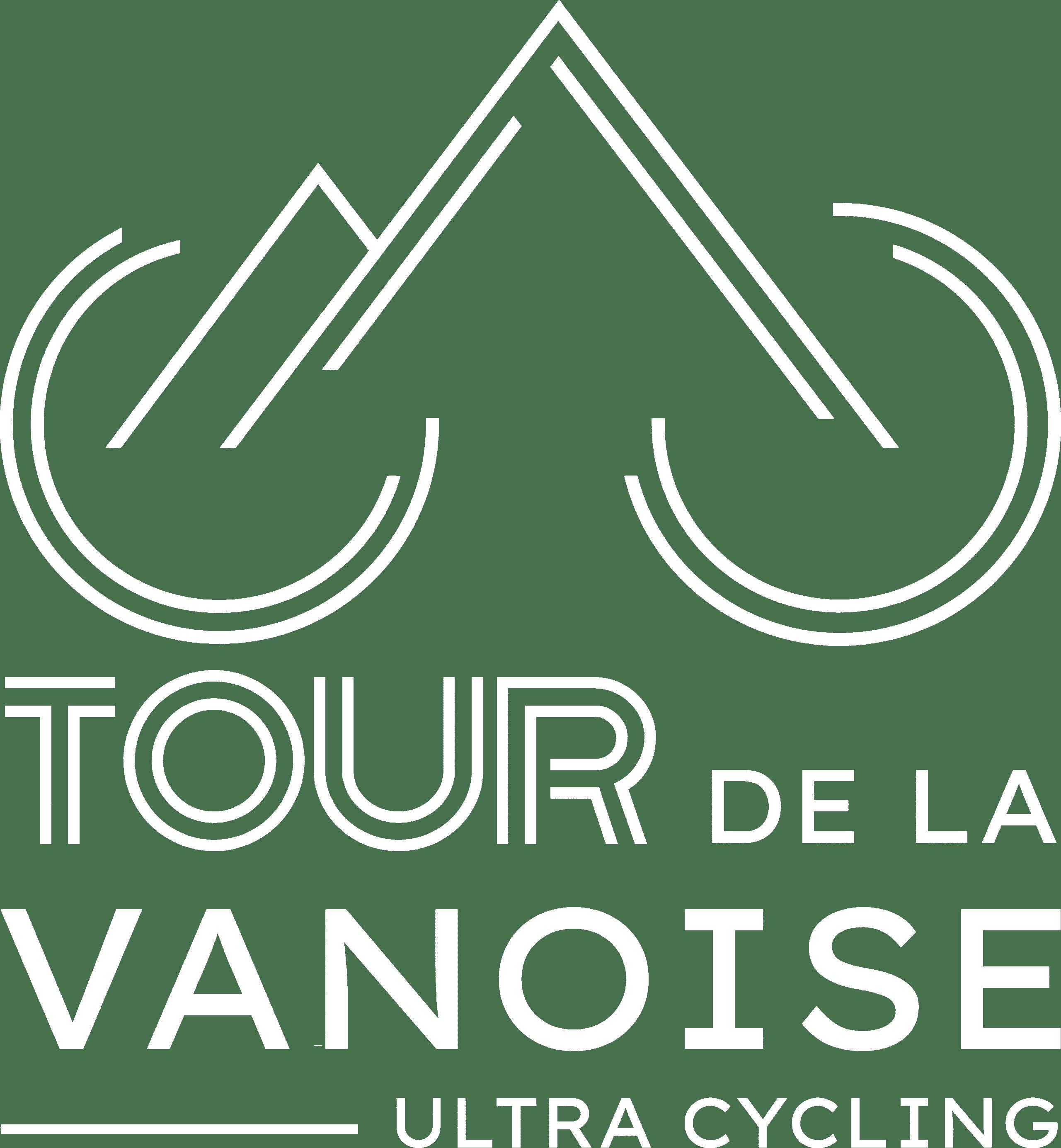 Logo Tour de la Vanoise Blanc